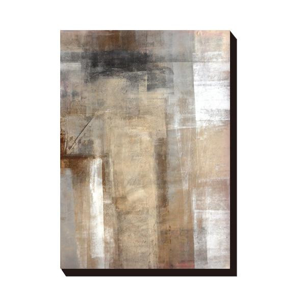 【送料無料】アートパネル T30 Gallery Brown and Beige Abstract Art Painting IAP-51600 【代引不可】