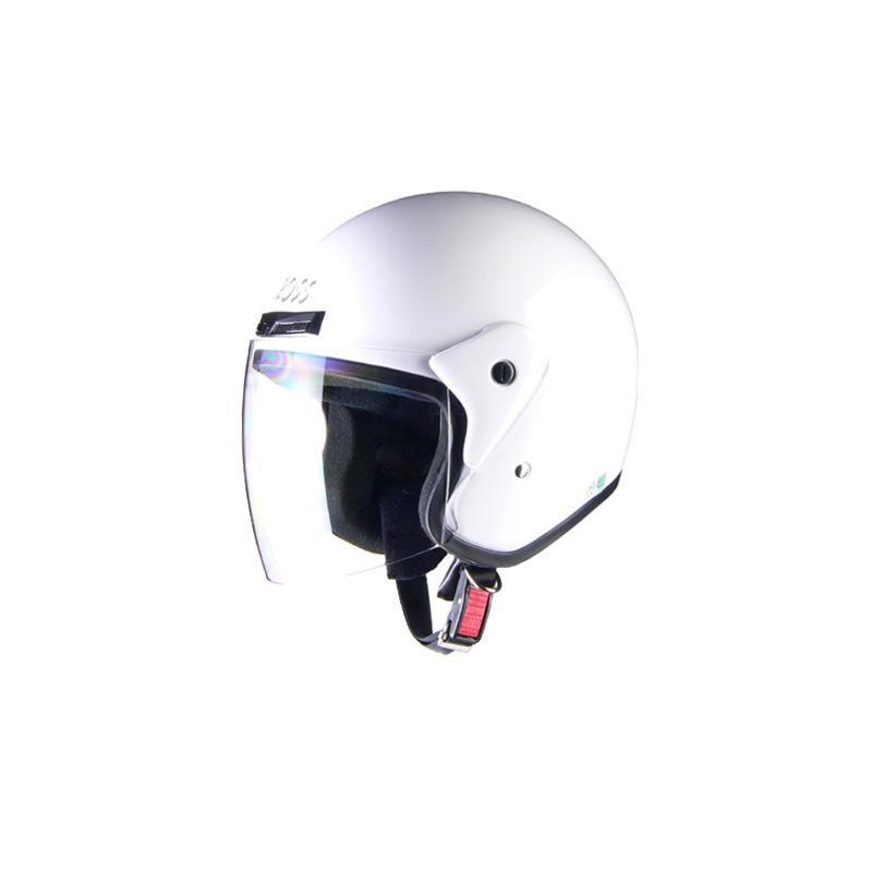 リード工業 CROSS ジェットヘルメット ホワイト フリーサイズ CR-720【代引不可】【北海道・沖縄・離島配送不可】