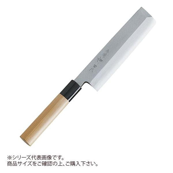 神田作の薄刃包丁です。 【送料無料】特選神田作 和包丁 薄刃180mm 129119【代引不可】