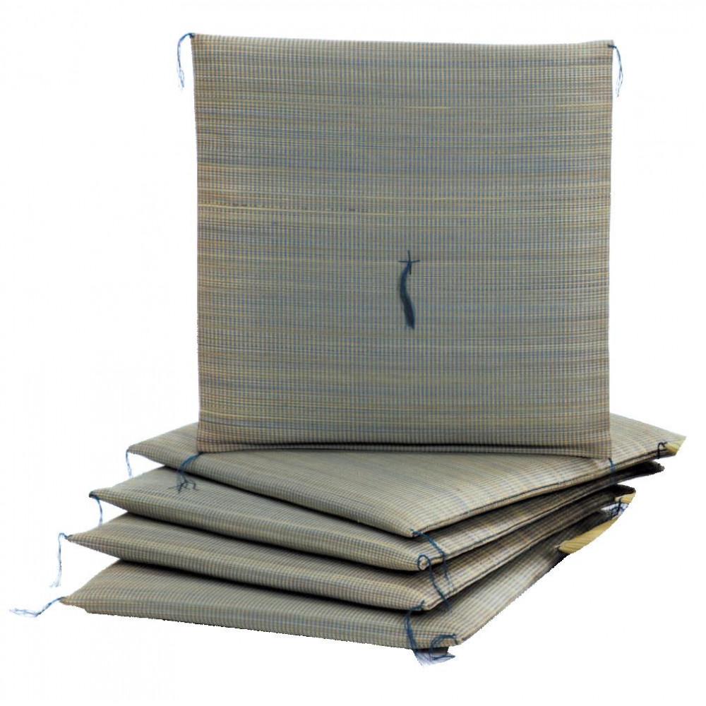 い草座布団 葵 約55×55cm 5枚組 HGW620101【代引不可】【北海道・沖縄・離島配送不可】