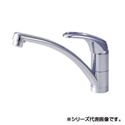 【送料無料】三栄 SANEI Modello シングルワンホール混合栓 K876TJV-13【代引不可】