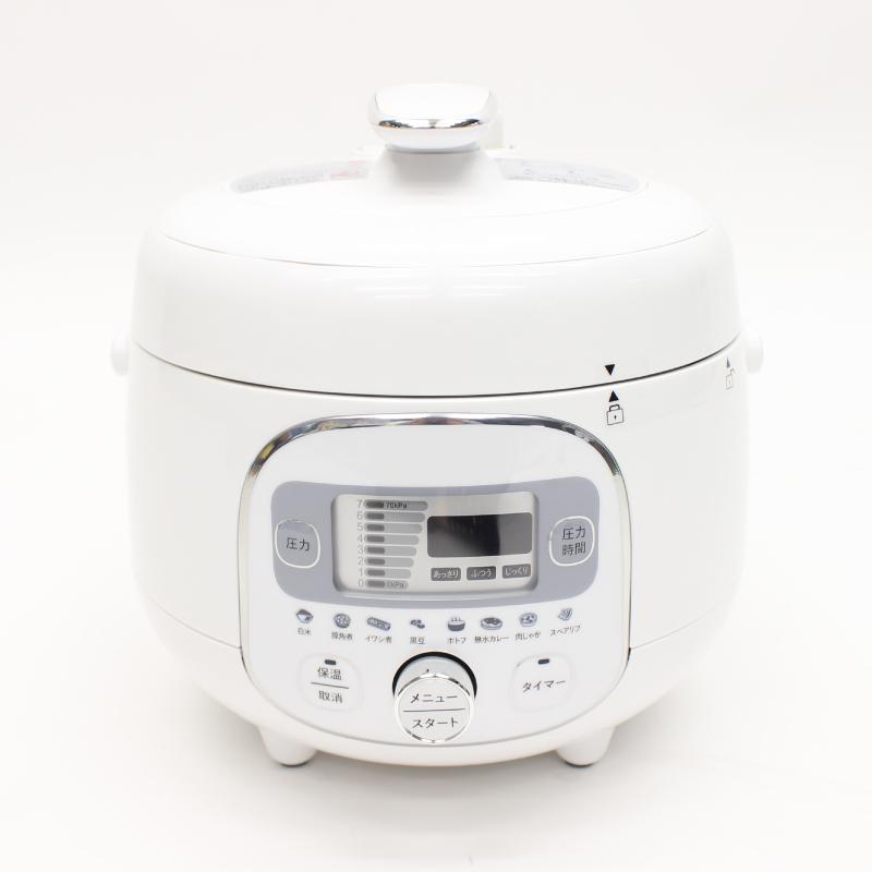 カンタン操作で本格調理! 電気圧力調理鍋 HR-P07W【代引不可】