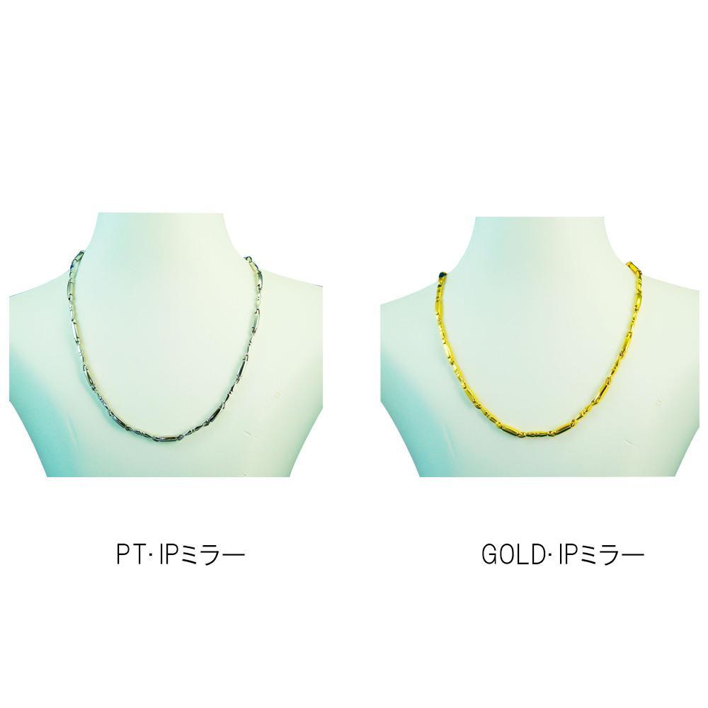 MARE(マーレ)デザインネックレス 0.35cm×43.0cm GOLD・IPミラー・107・NT1657-06【代引不可】【北海道・沖縄・離島配送不可】