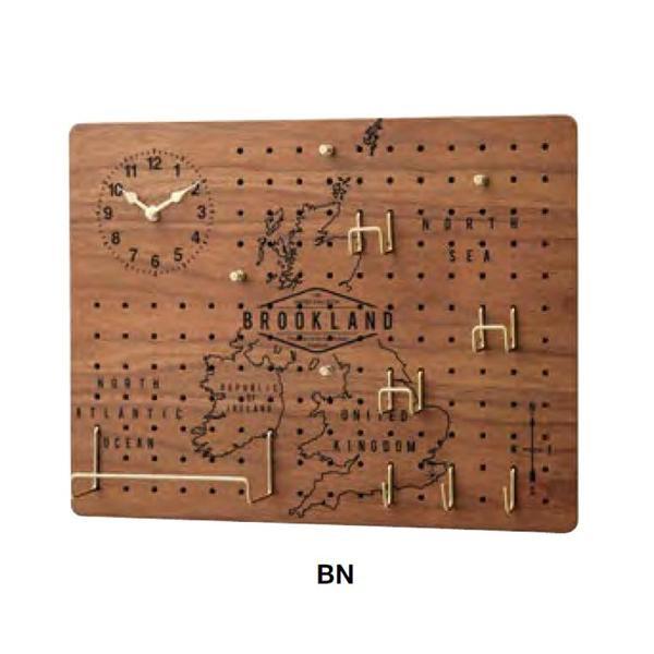 掛時計 Brookland(ブルックランド) CL-2140BN【代引不可】【北海道・沖縄・離島配送不可】