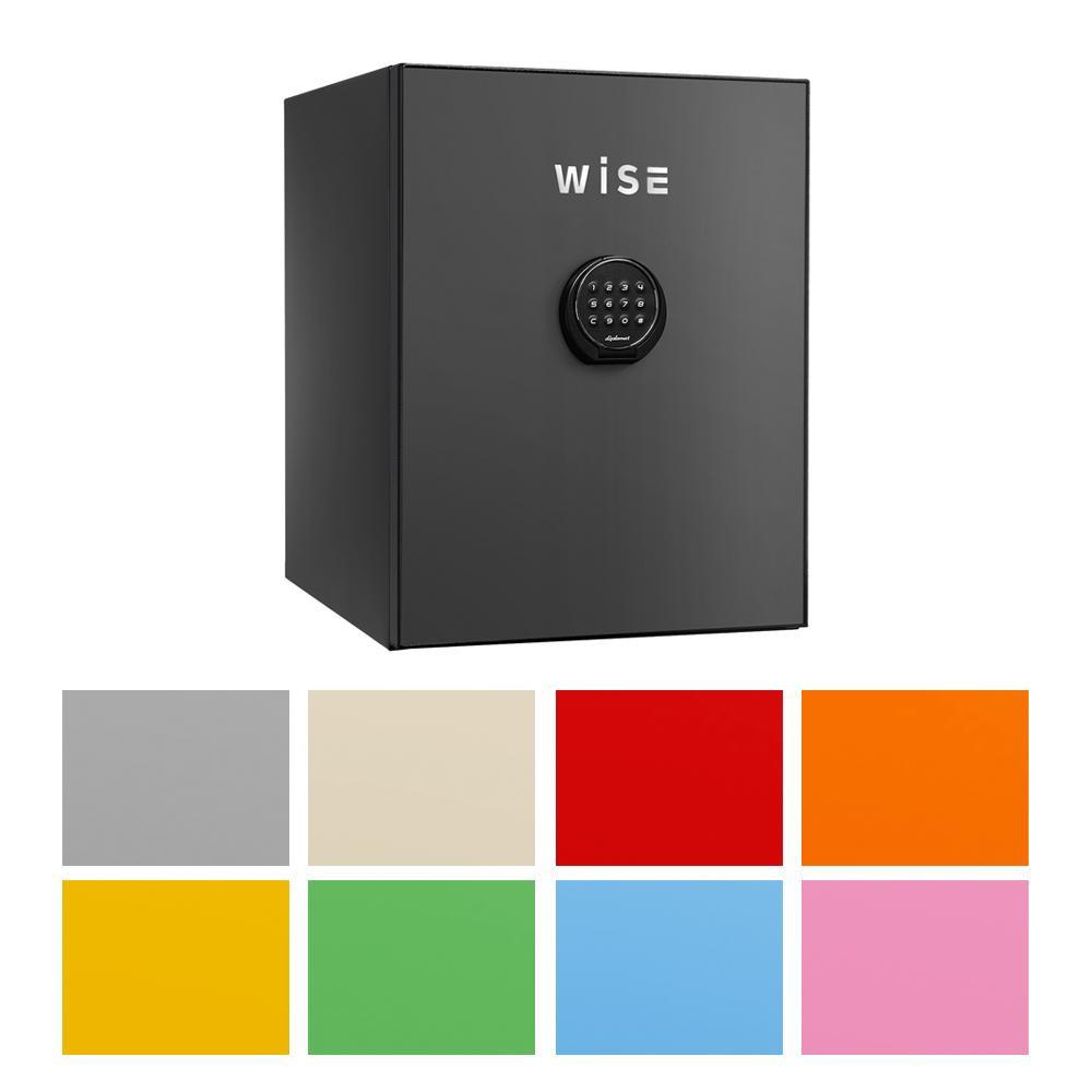 耐火デザイン金庫 プレミアムセーフ 容量36L R・レッド・WS500ALR【代引不可】【北海道・沖縄・離島配送不可】 diplomatディプロマット社 WISE(ワイズ)