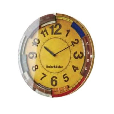 掛け時計 Ruler&Ruler ルーラールーラー CL-9584【代引不可】【北海道・沖縄・離島配送不可】