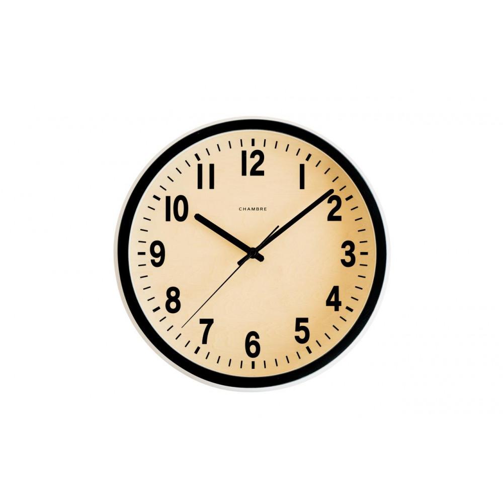 CHAMBRE PUBLIC BLACK 電波時計 BLACK CH-027BK【代引不可】【北海道・沖縄・離島配送不可】