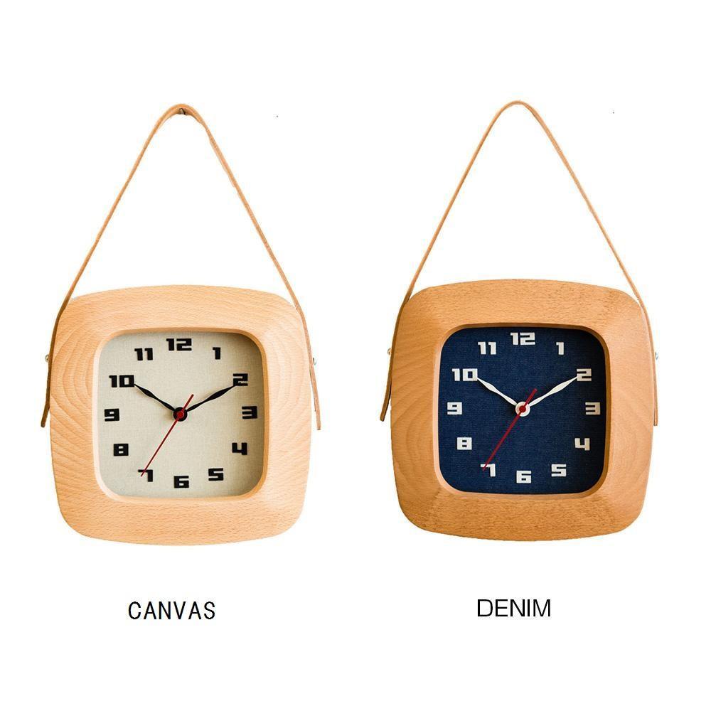 【送料無料】CHAMBRE BAG BLACK 掛け時計 DENIM・CH-020DM【代引不可】
