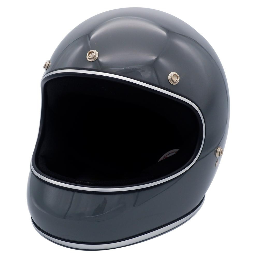 ダムトラックス(DAMMTRAX) アキラ ヘルメット GLOSSGRAY Lサイズ【代引不可】【北海道・沖縄・離島配送不可】