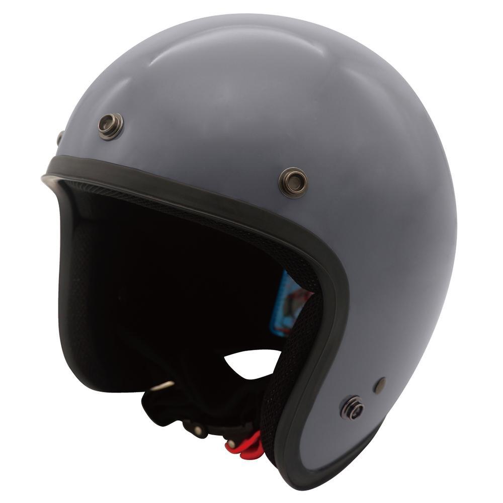 ダムトラックス(DAMMTRAX) JET-D ヘルメット GLOSSGRAY LADYS・FREE【代引不可】【北海道・沖縄・離島配送不可】