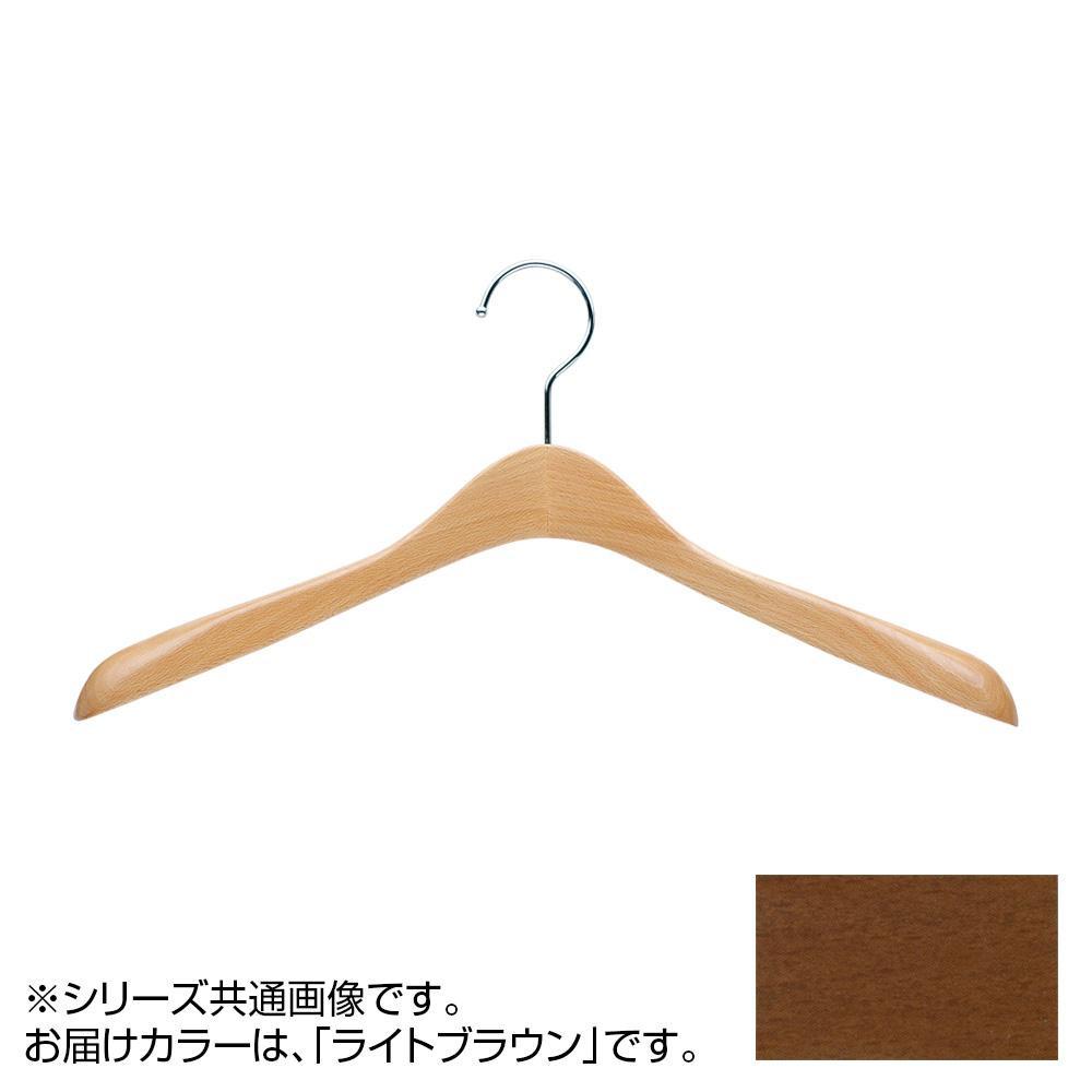 日本製 木製ハンガーメンズ用 ライトブラウン 5本セット T-5450 肩幅42cm×肩厚4.5cm【代引不可】【北海道・沖縄・離島配送不可】