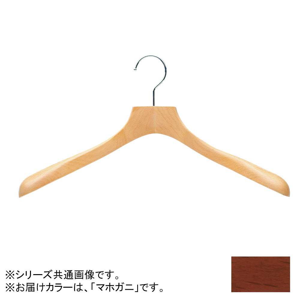 日本製 木製ハンガーレディス用 マホガニ 5本セット T-5406 肩幅38cm×肩厚4cm【代引不可】【北海道・沖縄・離島配送不可】