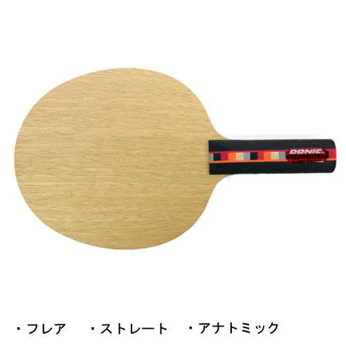 DONIC 卓球ラケット ワルドナーカーボン JO SHAPE BL165 ストレート【代引不可】【北海道・沖縄・離島配送不可】