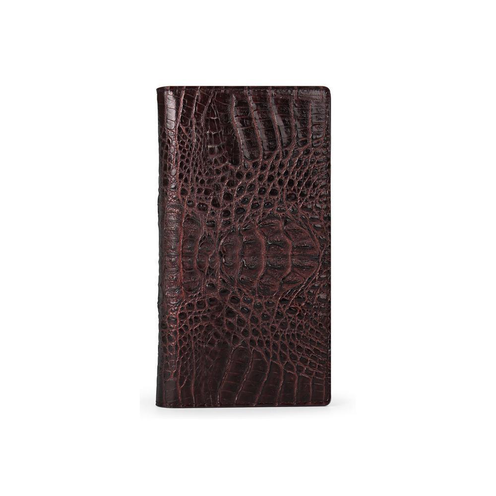HANSMARE(ハンスマレ) iPhone 11 スライド式手帳型ケース CROCO DOUBLE FLIP CASE ブラウン HAN18306i61R【代引不可】【北海道・沖縄・離島配送不可】