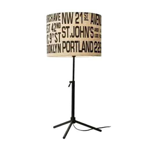 Bus Roll Table Lamp バスロールテーブルランプ LT-1635IV【代引不可】【北海道・沖縄・離島配送不可】
