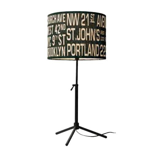 Bus Roll Table Lamp バスロールテーブルランプ LT-1636 BK【代引不可】【北海道・沖縄・離島配送不可】