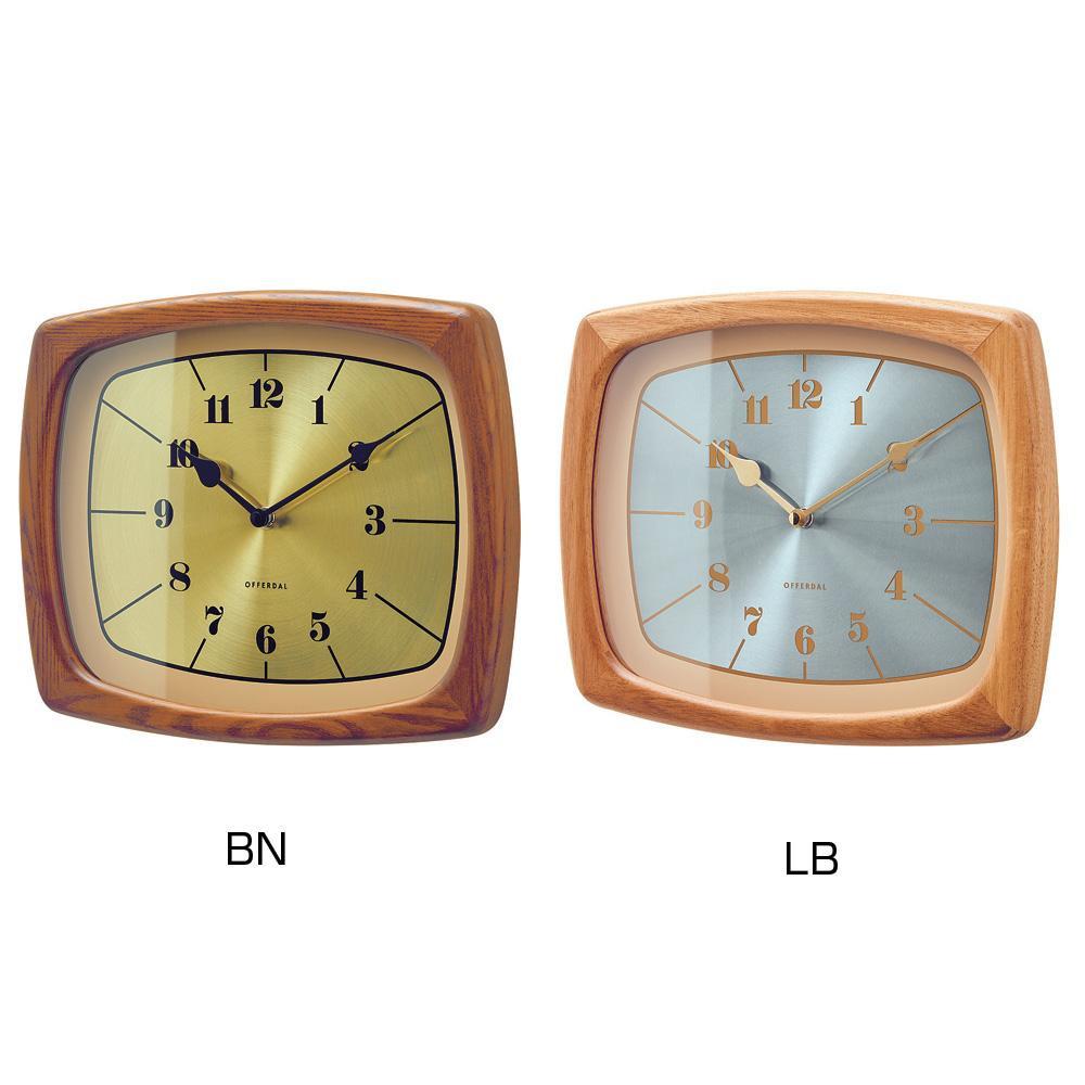 掛時計 Enoch イーノク LB・CL-3853【代引不可】【北海道・沖縄・離島配送不可】