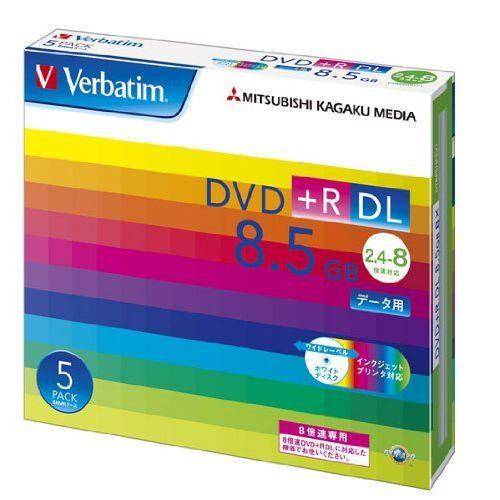 (まとめ買い)三菱化学メディア Verbatim DVD+R DL 8.5GB 1回記録用 2.4-8倍速 5mmケース 5枚パック DTR85HP5V1 〔×3〕