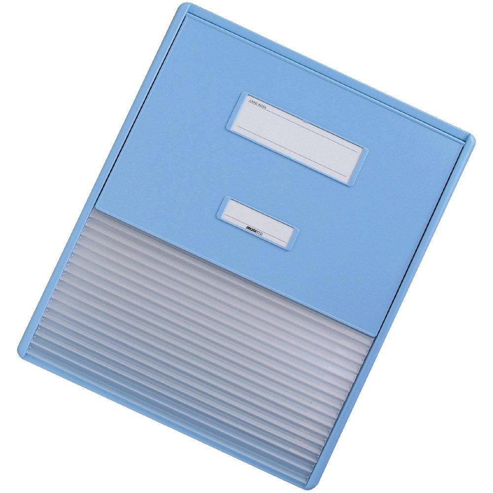 【送料無料】(まとめ買い)リヒトラブ カラーカードインデックス A3(A4縦2面) ブルー HC114C-2 〔3冊セット〕