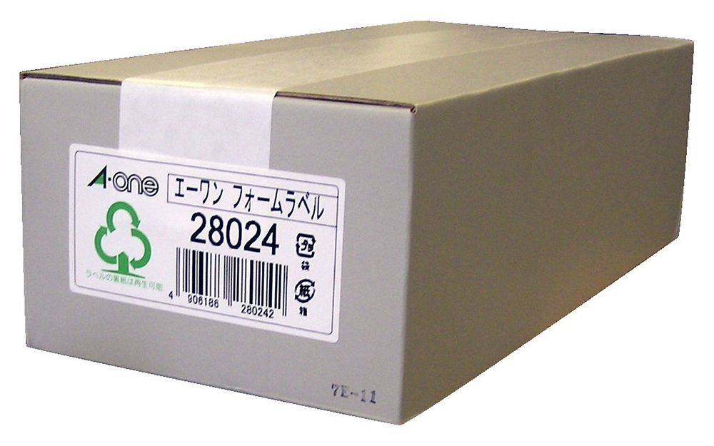 【送料無料】(まとめ買い)エーワン コンピュータフォームラベル 6面 500枚 28024 〔×3〕