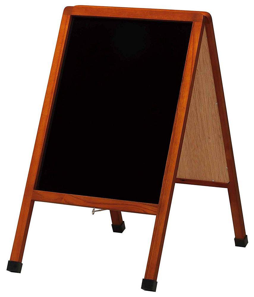 【送料無料】(まとめ買い)レイメイ藤井 A型ブラックボード 小 LNB600 〔×3〕
