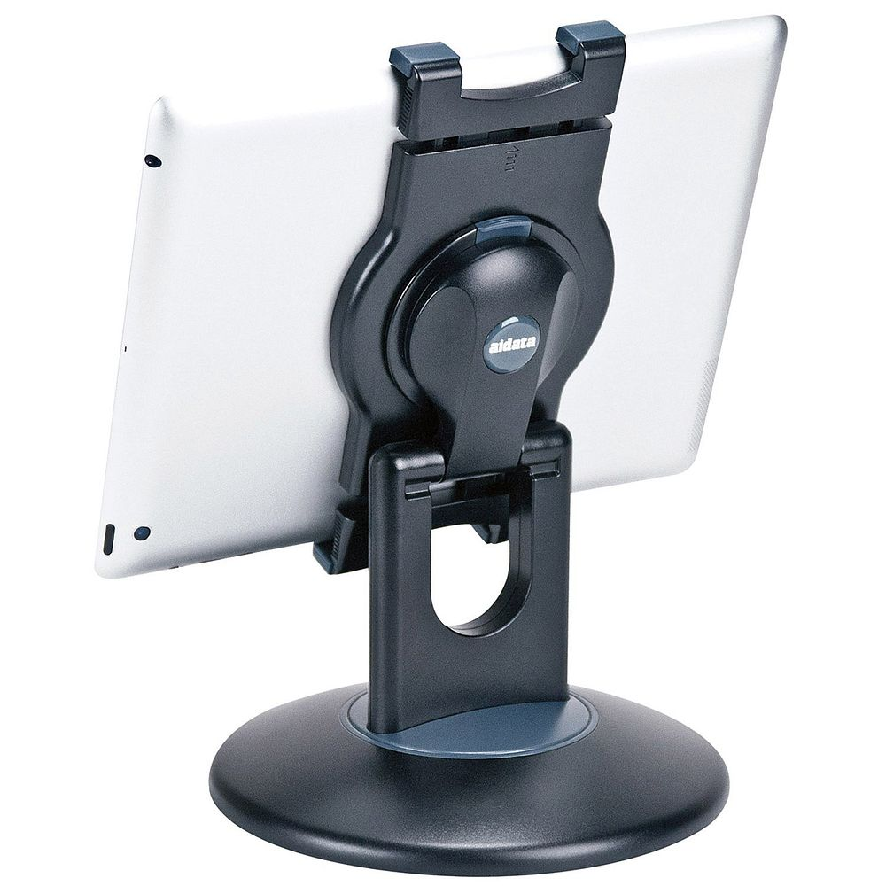 (まとめ買い)セキセイ タブレット汎用ステーション ブラック US-2002-60 〔3台セット〕