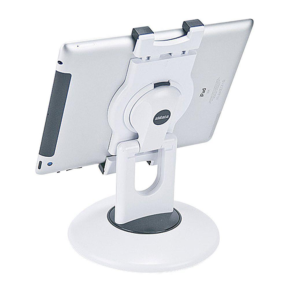 (まとめ買い)セキセイ タブレット汎用ステーション ホワイト US-2002-70 〔3台セット〕【北海道・沖縄・離島配送不可】