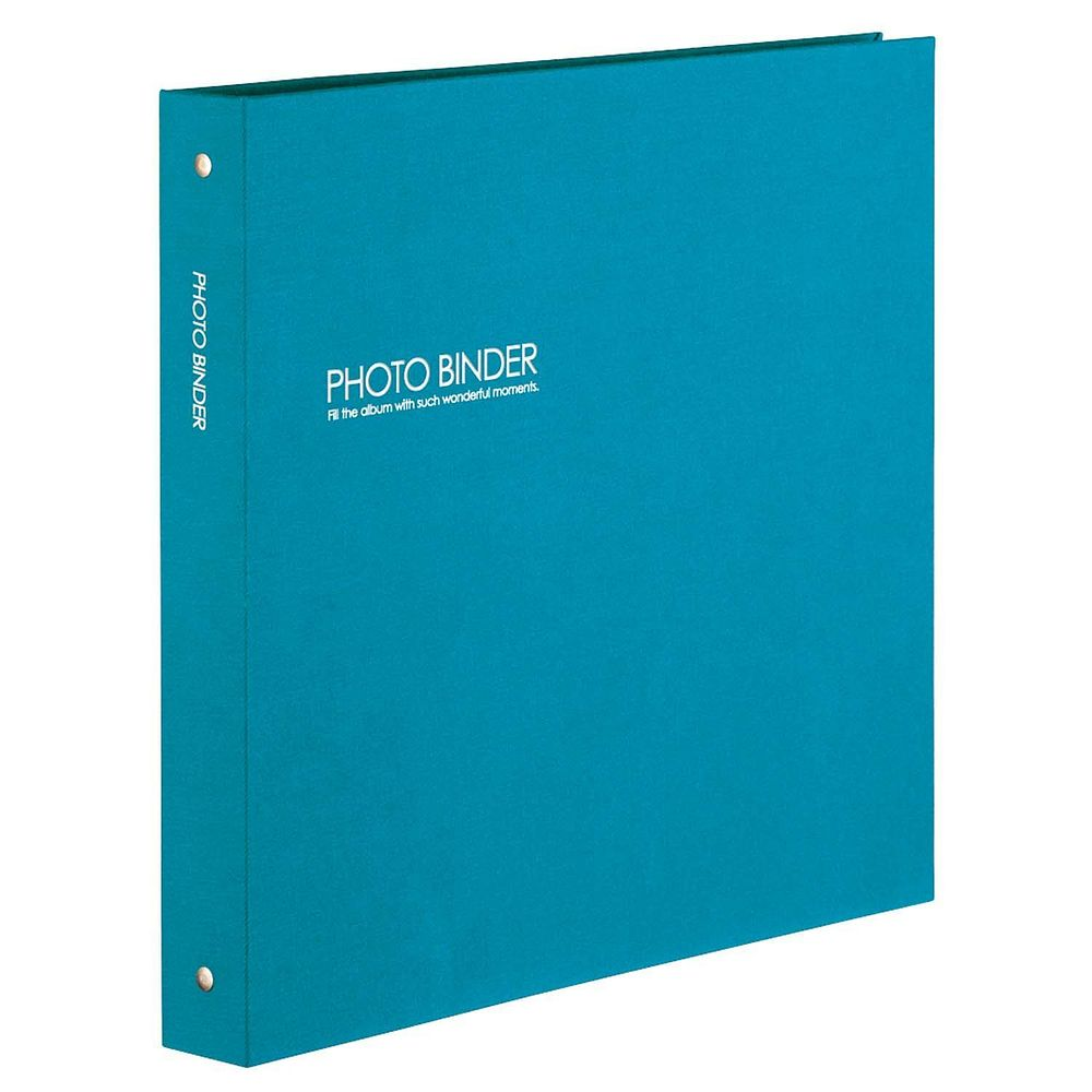 (まとめ買い)セキセイ ハーパーハウス フォトバインダー 高透明 Lサイズ300枚収容 ブルー XP-3233-10 〔3冊セット〕