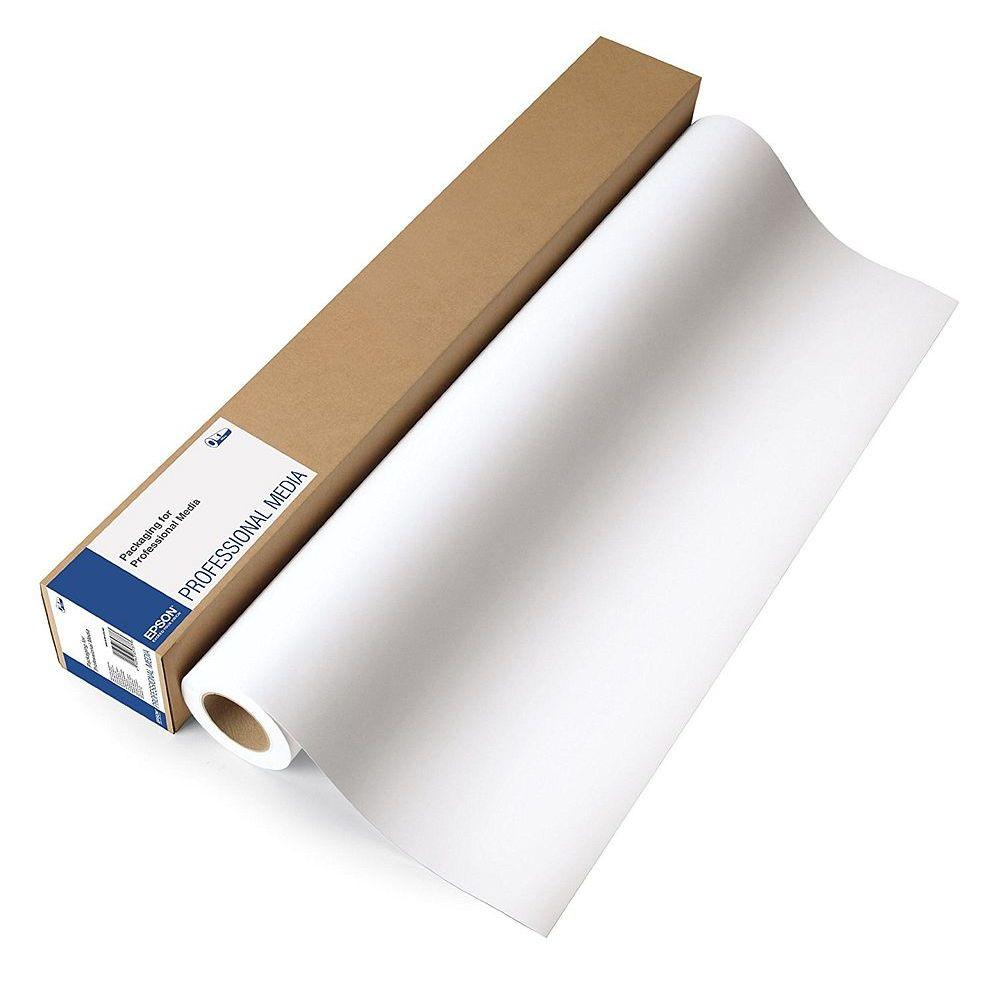 【送料無料】(まとめ買い)エプソン プロフェッショナルフォトペーパー 厚手絹目 約1524mm幅 PXMC60R11 〔3本セット〕