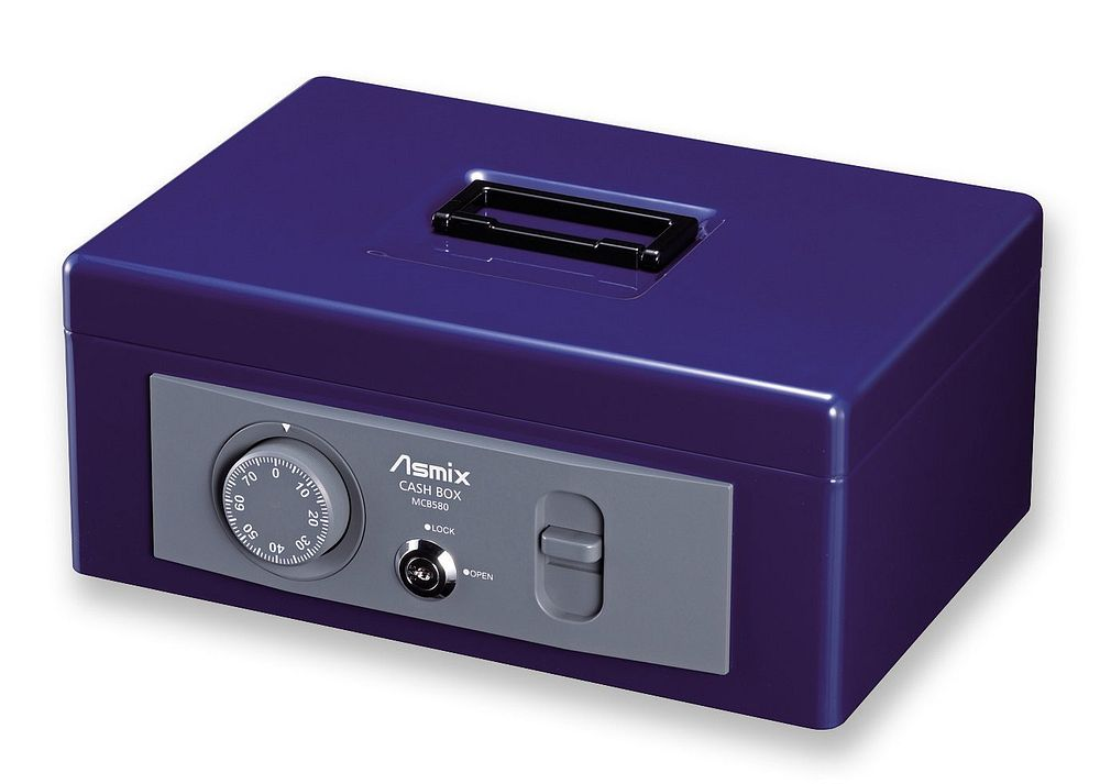アスカ Asmix 手提金庫 書類B5サイズ収納 MCB580