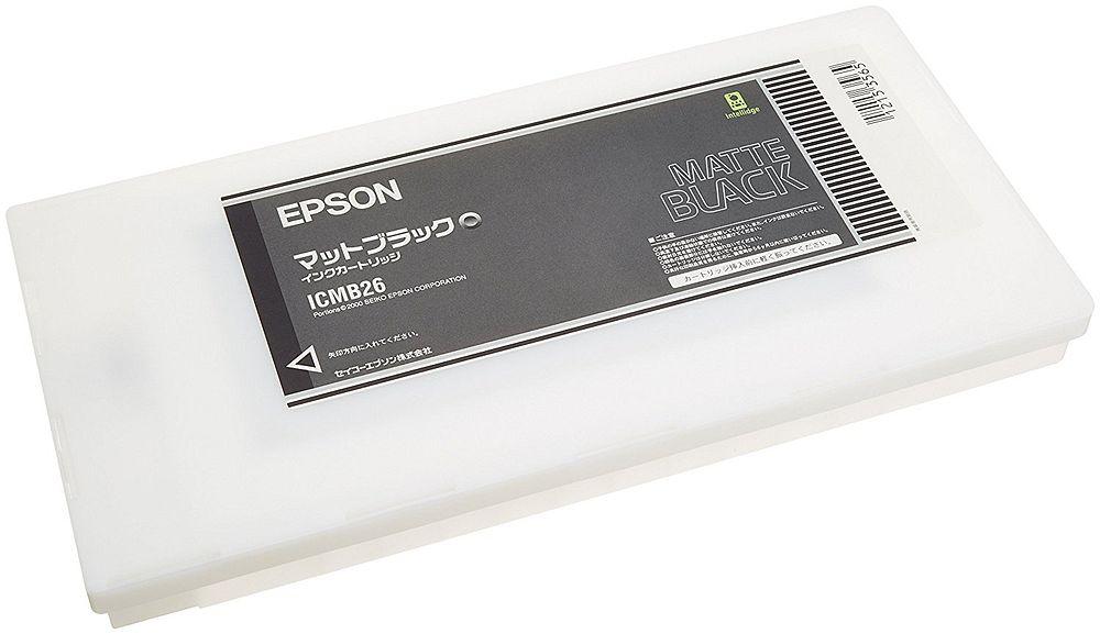 【送料無料】(まとめ買い)エプソン 純正 インクカートリッジ マットブラック ICMB26 〔3個セット〕