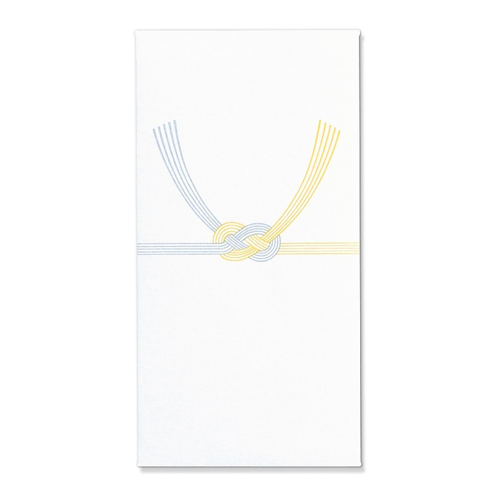 【送料無料】(まとめ買い)マルアイ Z212 万円袋 黄水引 ノ-Z212 〔×120〕