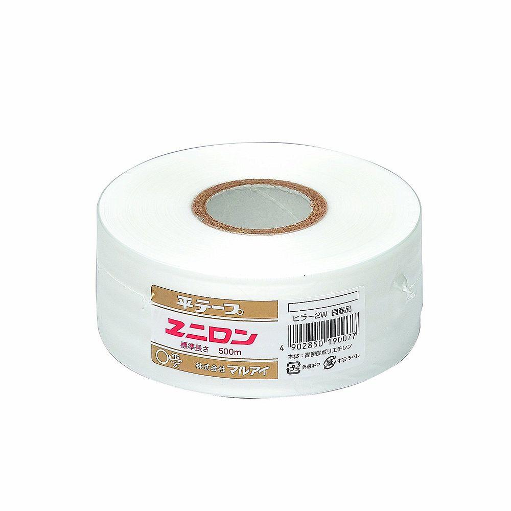 【送料無料】(まとめ買い)マルアイ ユニロン 平テープ 白 ヒラ-2W 〔×30〕