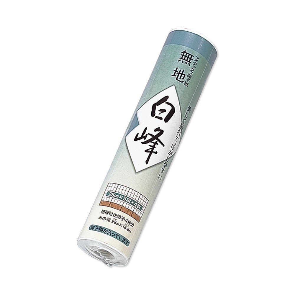 【送料無料】(まとめ買い)マルアイ 障子紙 白峰 280巻 シヨ-ハク101 〔×30〕