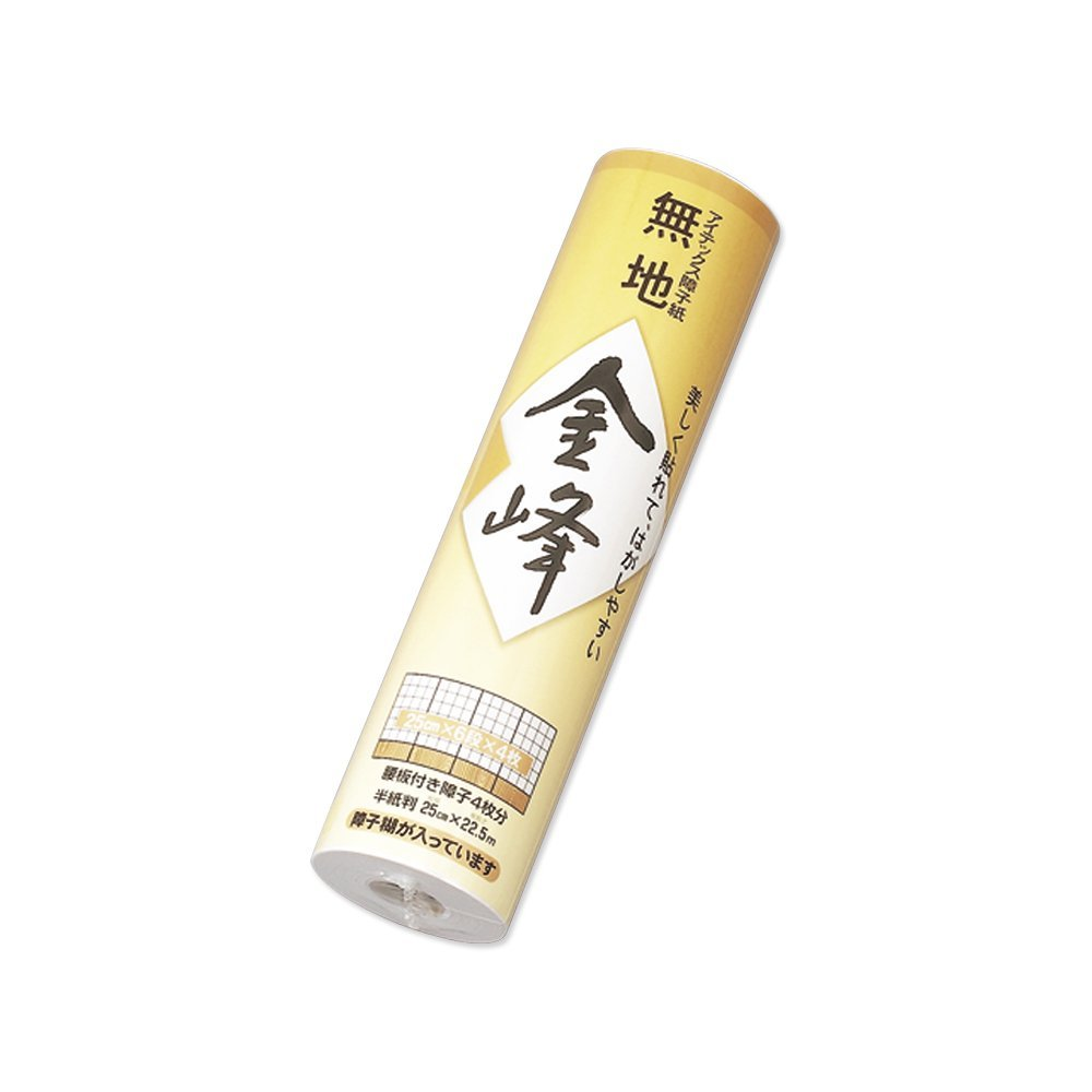 【送料無料】(まとめ買い)マルアイ 障子紙 金峰 250巻 シヨ-キン102 〔×30〕