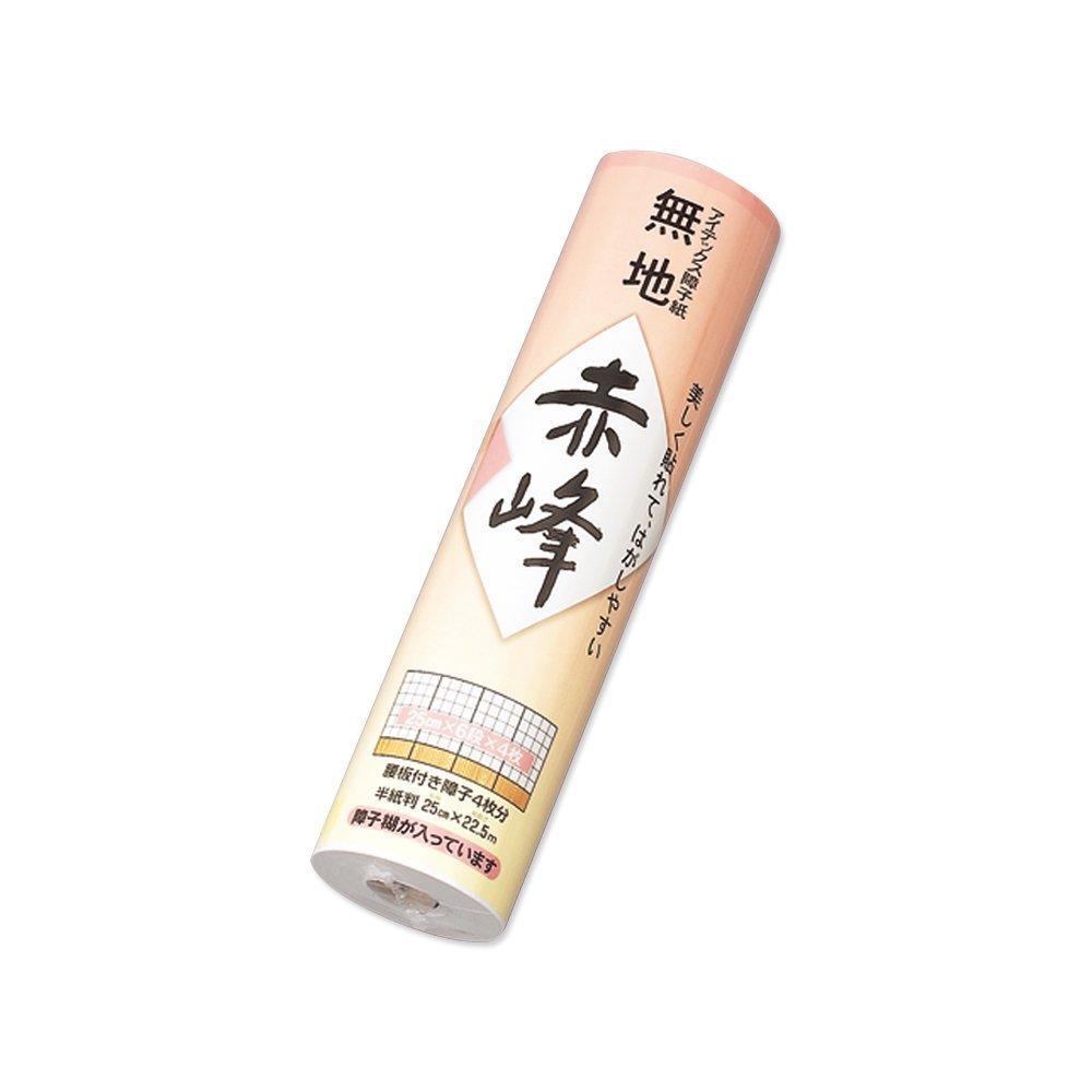【送料無料】(まとめ買い)マルアイ 障子紙 赤峰 250巻 シヨ-セキ102 〔×50〕