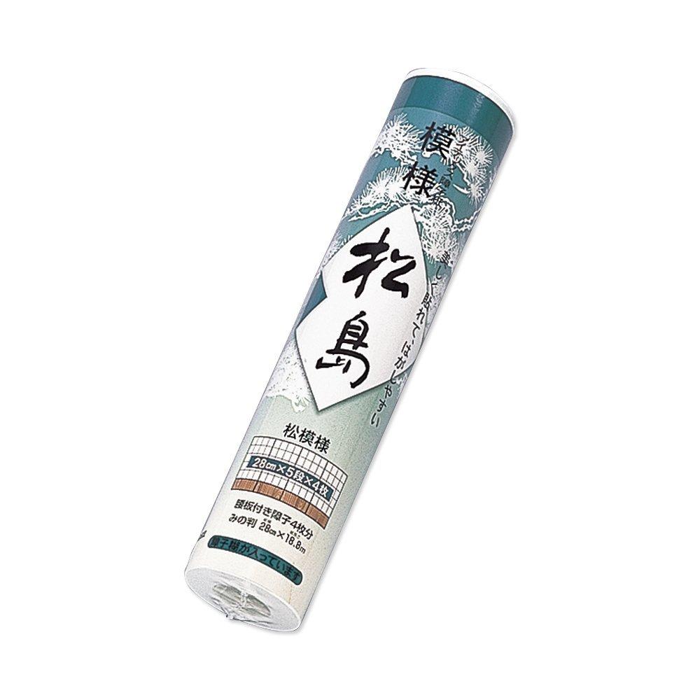 【送料無料】(まとめ買い)マルアイ 障子紙 松島 280巻 シヨ-マツ101 〔×30〕