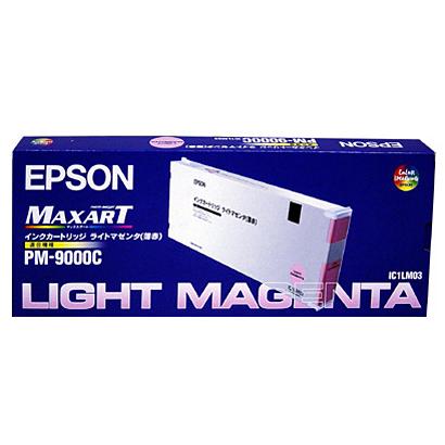 【送料無料】(まとめ買い)エプソン 純正 インクカートリッジ ライトマゼンタ IC1LM03 〔3個セット〕