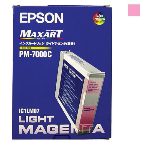 【送料無料】(まとめ買い)エプソン 純正 インクカートリッジ ライトマゼンタ3個入 IC1LM073P 〔×3〕