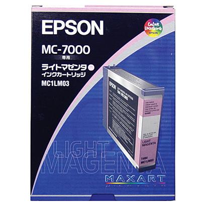 (まとめ買い)エプソン 純正 インクカートリッジ ライトマゼンタ MC1LM03 〔3個セット〕【北海道・沖縄・離島配送不可】