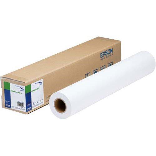 【送料無料】(まとめ買い)エプソン MC厚手マット紙ロール 約610mm幅 MCSP24R4 〔×3〕