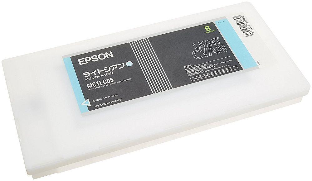 (まとめ買い)エプソン 純正 インクカートリッジ ライトシアン MC1LC05 〔3個セット〕【北海道・沖縄・離島配送不可】
