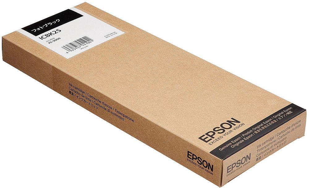 (まとめ買い)エプソン 純正 インクカートリッジ フォトブラック ICBK25 〔3個セット〕【北海道・沖縄・離島配送不可】
