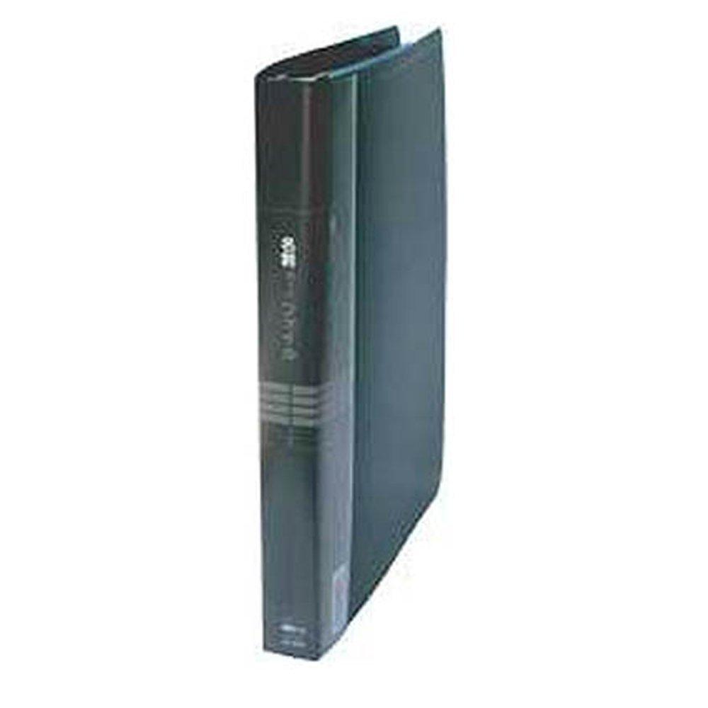 【送料無料】(まとめ買い)コレクト 名刺カードファイル 黒 B5-L 26穴 CF-5140-BK 〔5冊セット〕