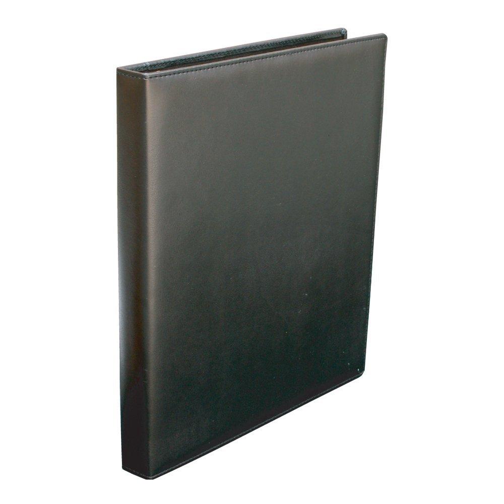 (まとめ買い)コレクト リングバインダー 黒 A4-L 30穴 F-950X-BK 〔5冊セット〕
