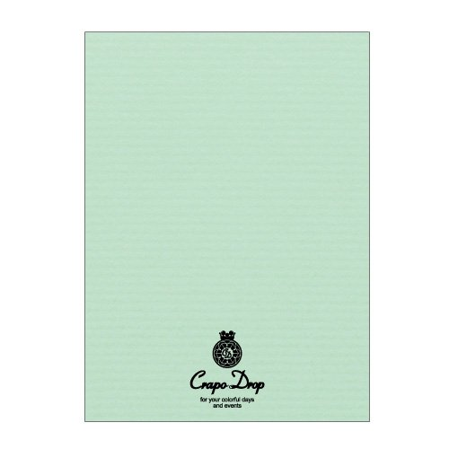 (summary) QP005S [*5 set of bulk buying] with HISAGO business card paper クラッポドロップ business card, card A4 ten mint 10 sheet