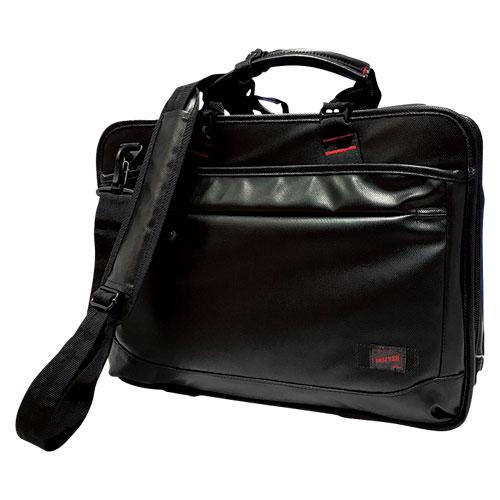 【送料無料】(まとめ買い)コクホー 多用途カジュアルビジネスバッグ DR-BB042-B 〔3個セット〕