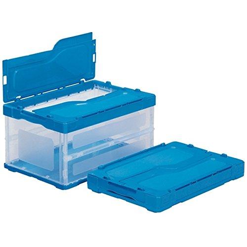 (まとめ買い)三甲 サンクレットオリコン 透明ブルー F41B 558980-00 〔3個セット〕【北海道・沖縄・離島配送不可】