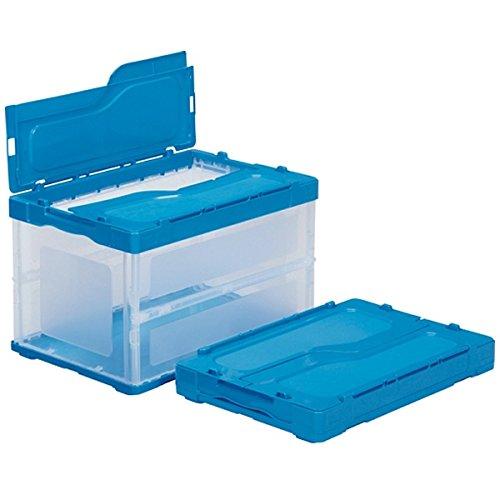 (まとめ買い)三甲 サンクレットオリコン 透明ブルー F51B 558960-00 〔3個セット〕