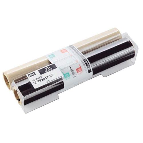 マックス ビーポップ インクリボン 200タイプ 詰め替え用(カセットなし) 白 SL-TR202T